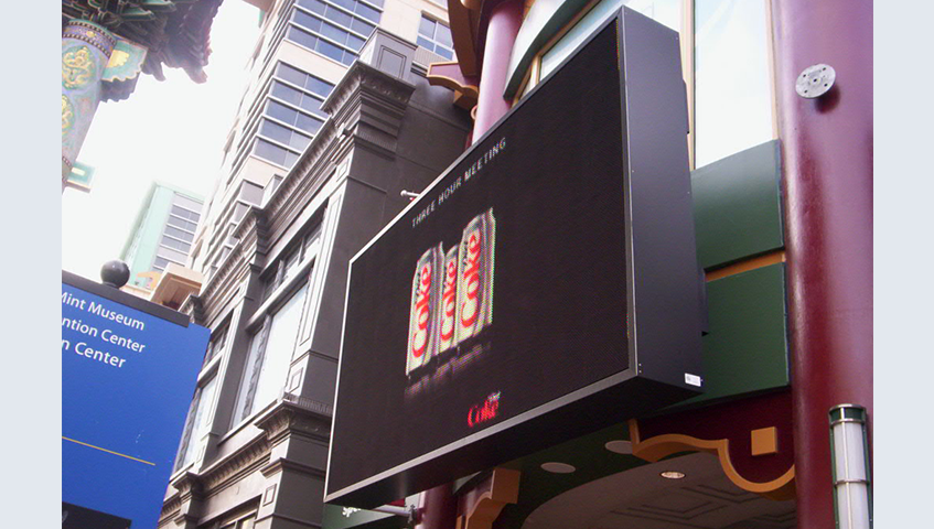 Exterior Digital Sign