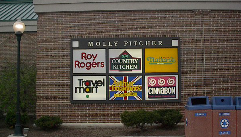 Molly Pitcher Menu Board