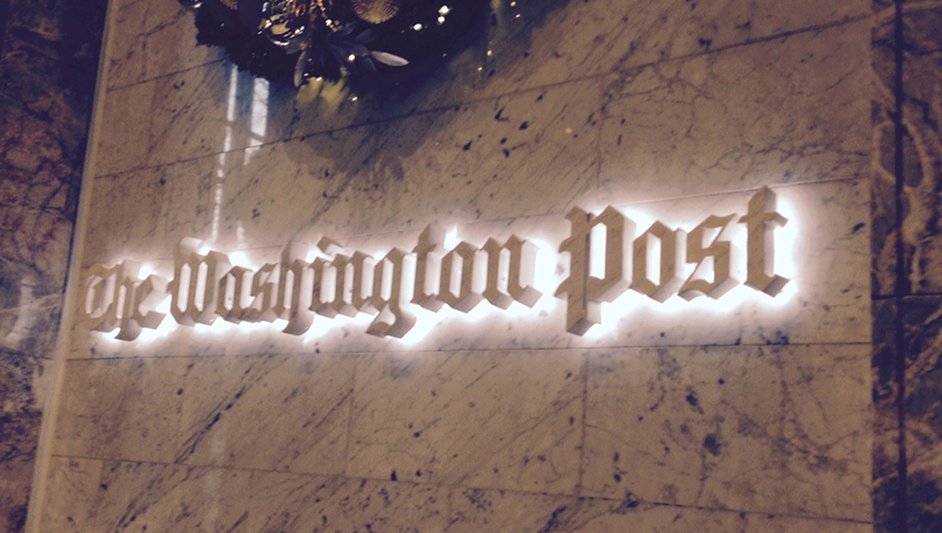 Washington Post Interior Letters