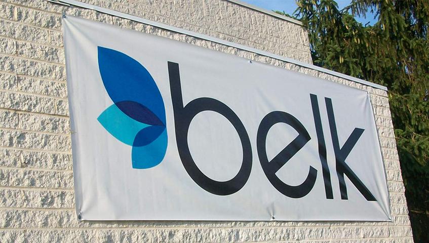 belk Exterior Banner Sign