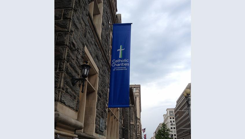 Exterior Banner Sign
