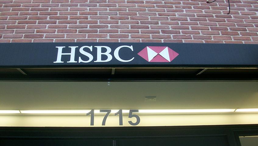 HSBC Exterior Canopy/Awning
