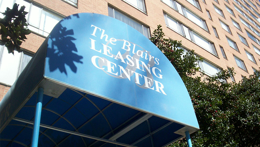 The Blairs Exterior Canopy/Awning