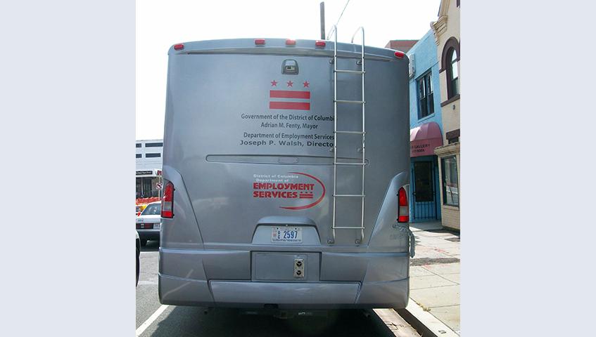 DC Employment Services Vehicle Graphics