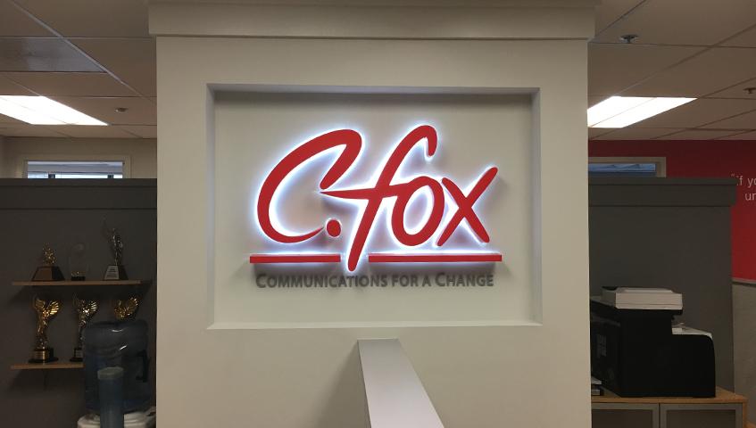 C. Fox Interior Illuminated Sign