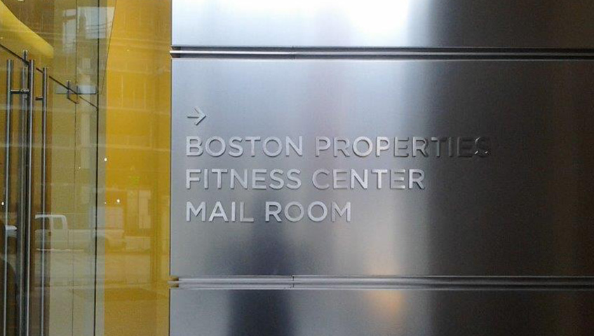 Interior Identification Letter Signs