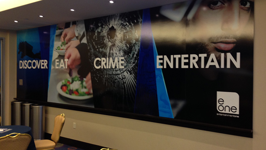 Entertainment One Studio Interior Wall Sign