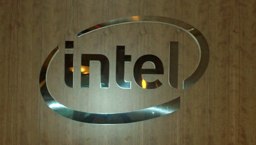 Intel Wall Sign
