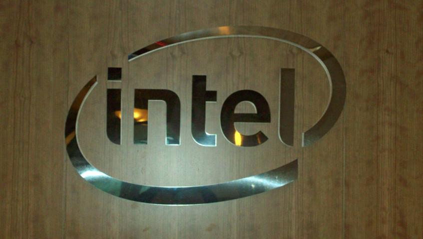 Intel Wall Sign