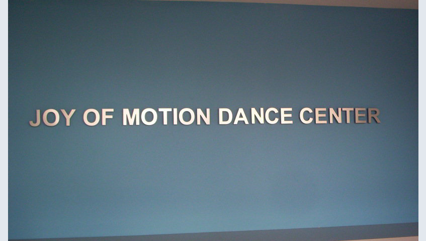 Joy Of Motion Interior Letters