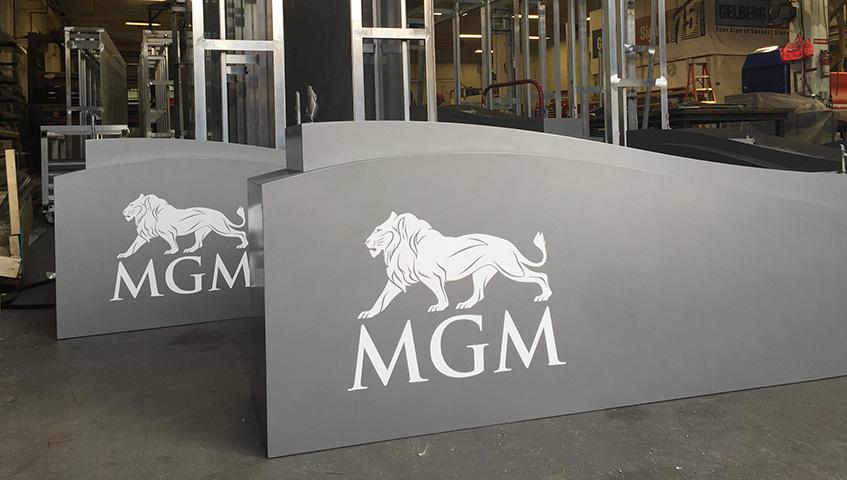 MGM (National Harbor) Sign Cabinet