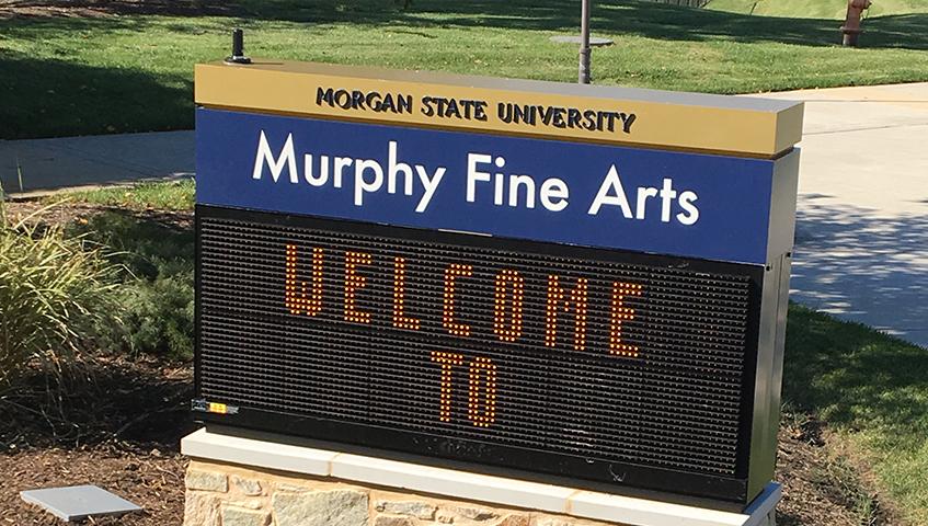 Morgan State University Digital Sign