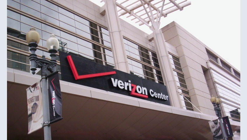 Verizon Center Building Identification