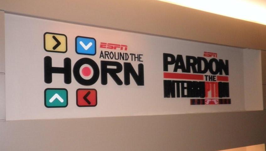 ESPN Architectural Sign
