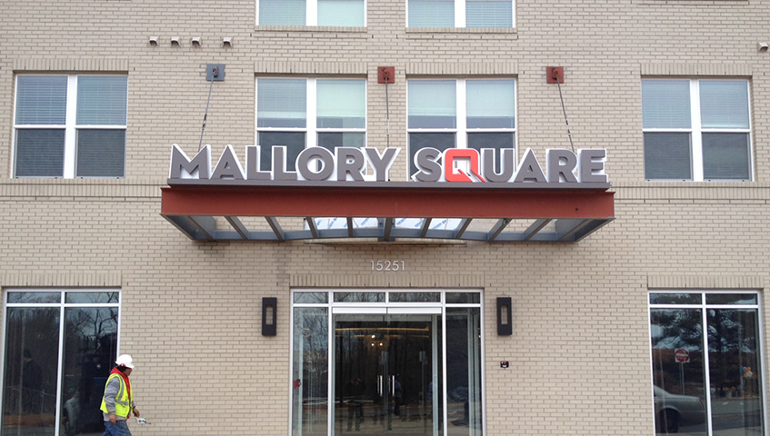 Mallory Square Exterior Canopy Sign
