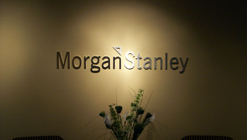 Morgan Stanley Wall Sign