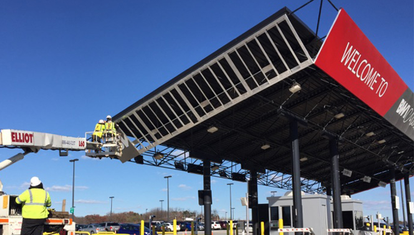 BWI Exterior Canopy