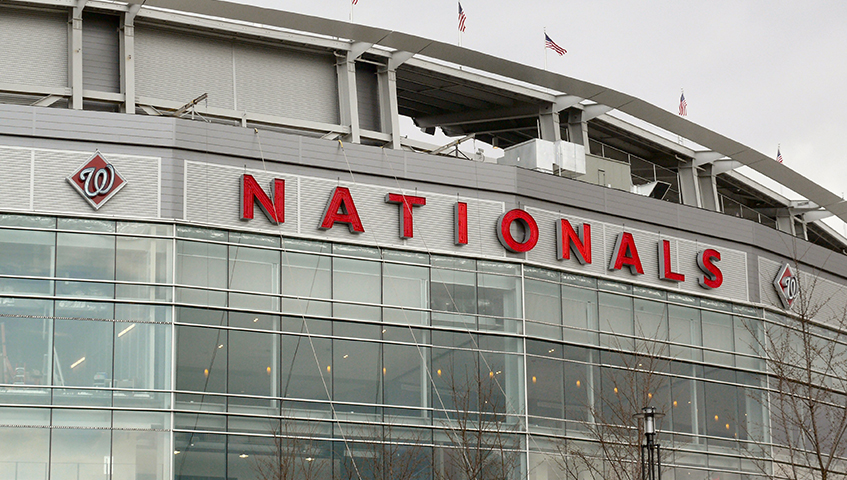 Nats Stadium Exterior Channel Letter