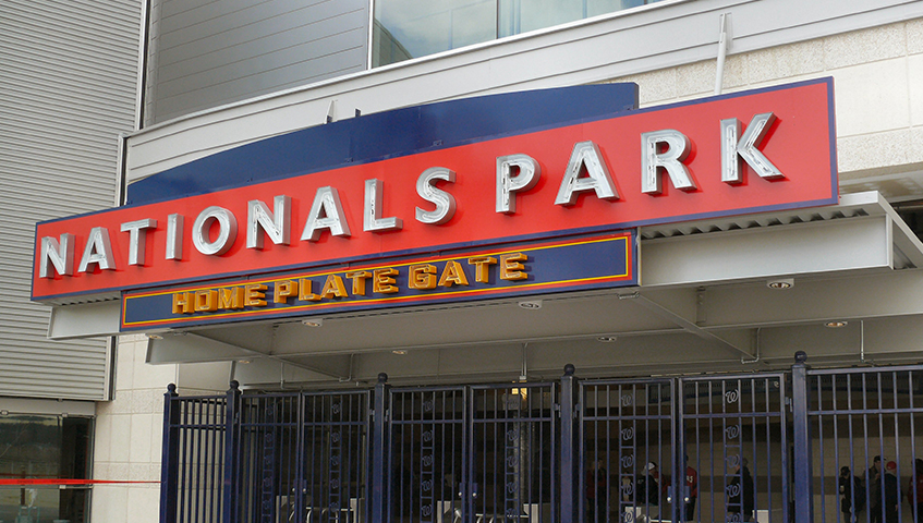 Nats Stadium Exterior Canopy