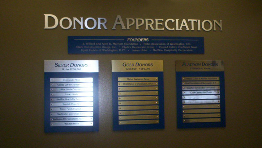 Interior Donor Boards