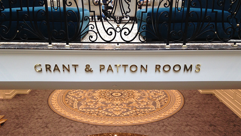 Grant & Patton Rooms Letters (Trump International, DC)