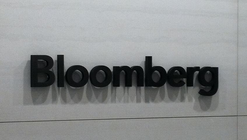 Bloomberg Office Lobby Sign (Washington, DC)
