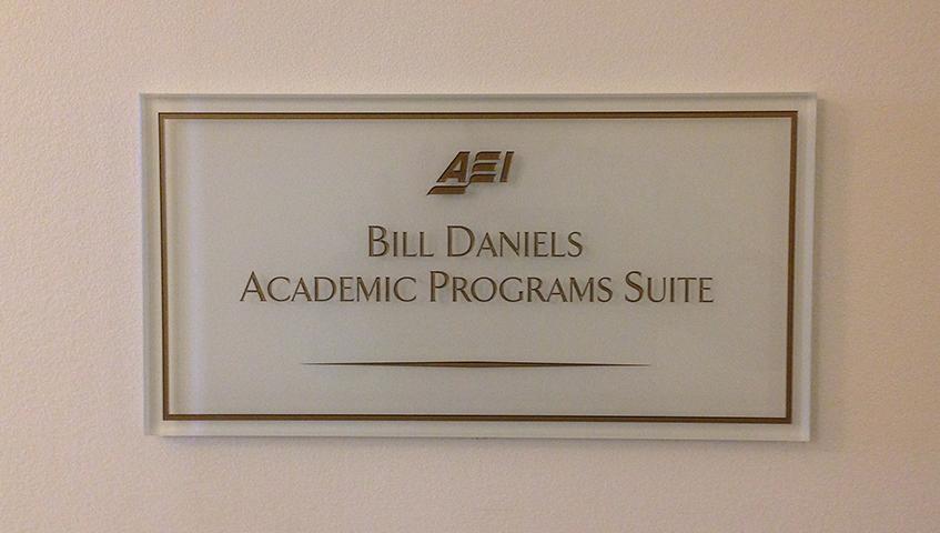 Interior ADA Compliant Sign