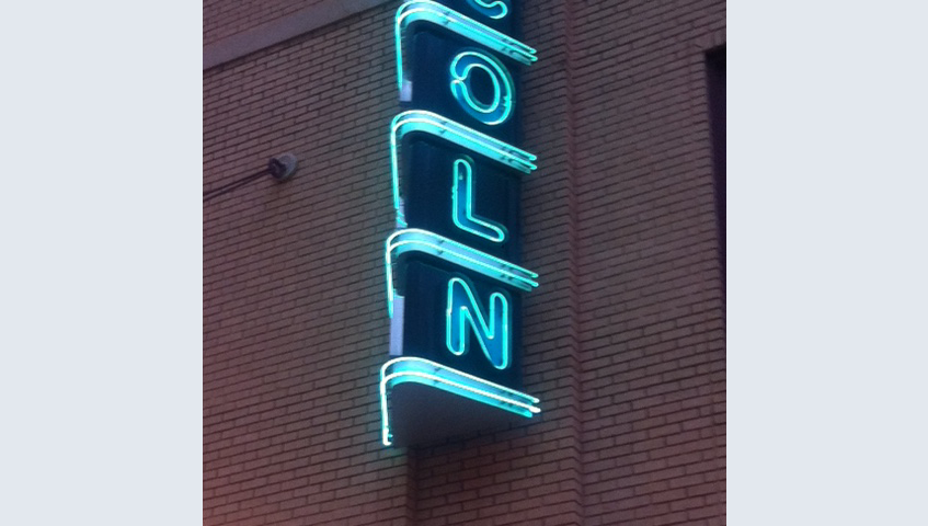 Lincoln Theater Neon Sign