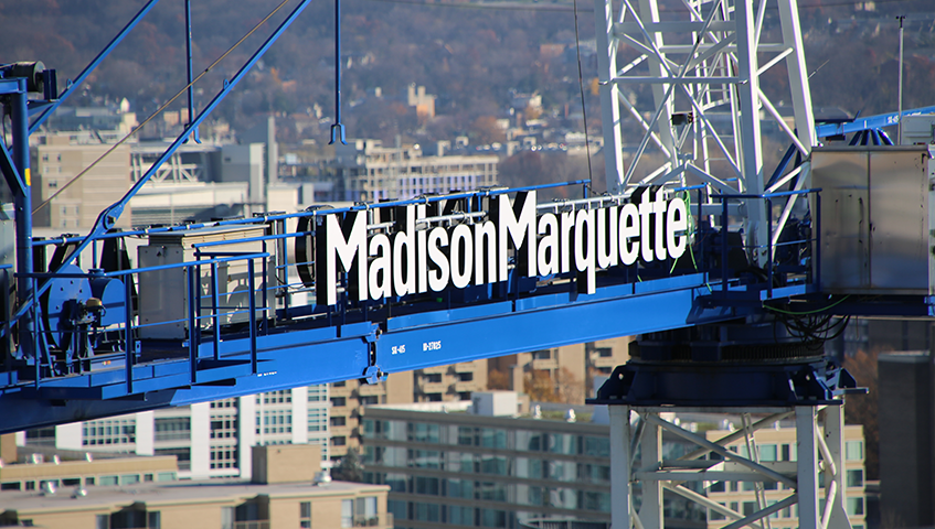 Madison Marquette Channel Letters