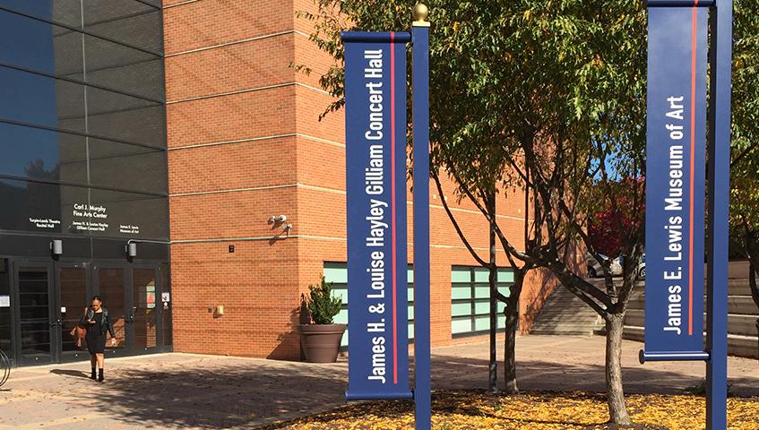 Morgan State University Banner Sign