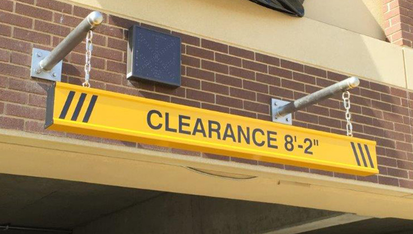 Exterior Parking Garage Sign