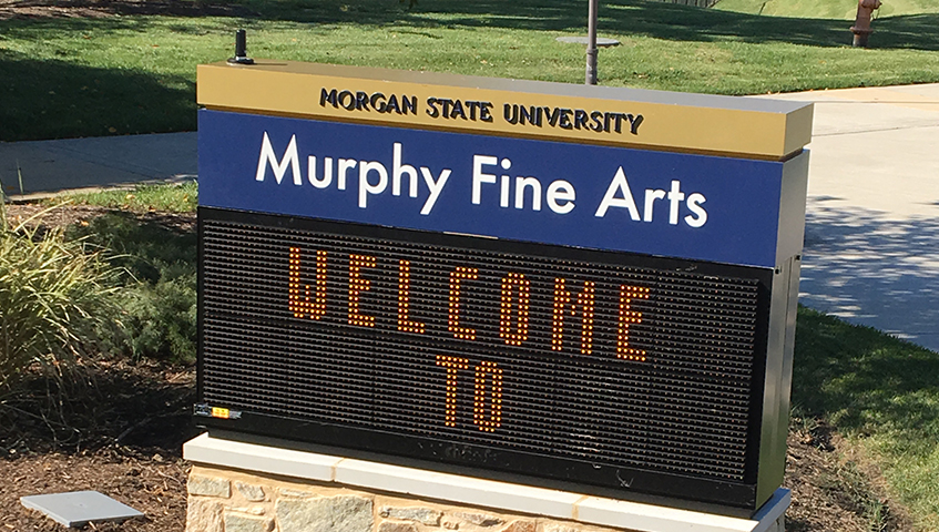 Morgan State University Digital Sign