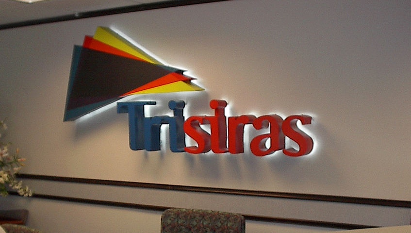 Trisiras Interior Wall Sign