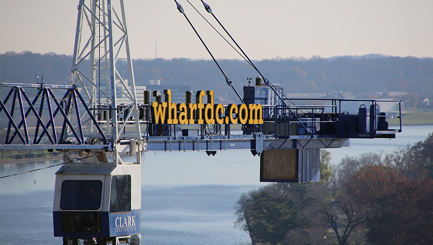 Wharf DC Exterior Channel Letters